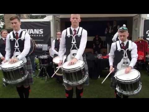 Scottish Power Drum Corps - World Championships 2016 - Drum Salute
