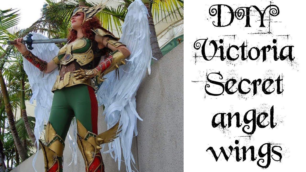 2732e7739 DIY Victoria's Secret Angel Wings - YouTube
