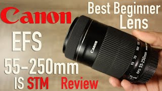 Canon EF-S 55-250mm F4-5 6 IS STM Lens Review