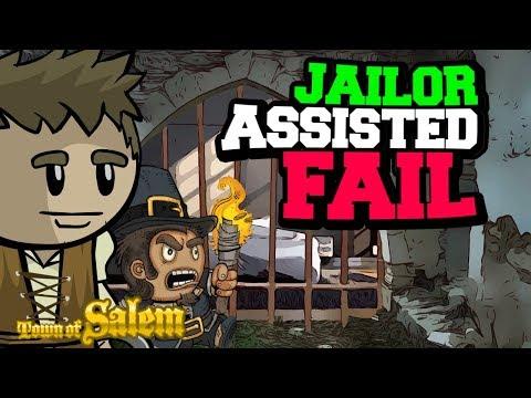 JAILOR ASSISTED FAIL | Town of Salem Coven Custom Balanced Gamemode