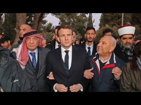 Fransa Cumhurbaşkanı Macron, İsrail polisini topraklarına sokmadı