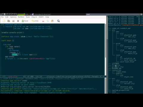 Reactive Web Applications in Clojure (Part 1: Creating a Project) from YouTube · Duration:  18 minutes 27 seconds