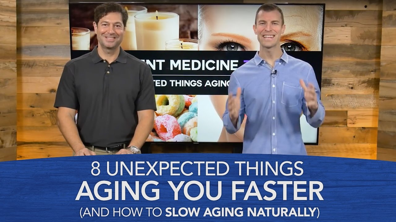 how to stop ageing naturally