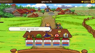 Knights of Pen And Paper - Gameplay ITA PC