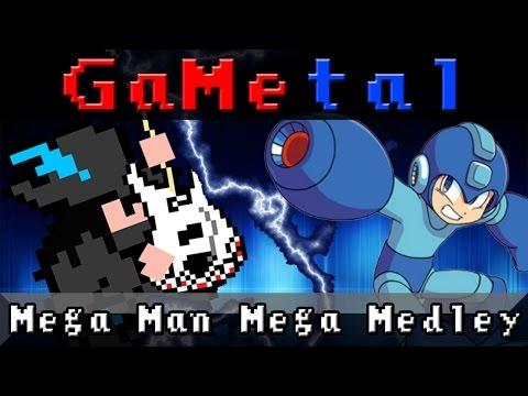 Mega Man Mega Medley - GaMetal