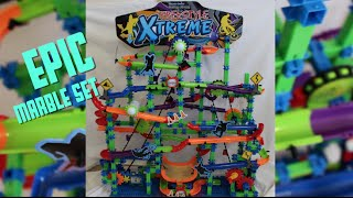 MARBLE MANIA Epic Marble Run Toy Set in ACTION! / TopShelfToys