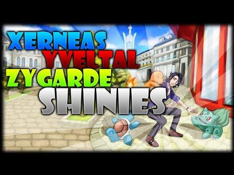 SHINY XERNEAS, YVELTAL & ZYGARDE Gameplay - Pokémon X & Y - Gangsta