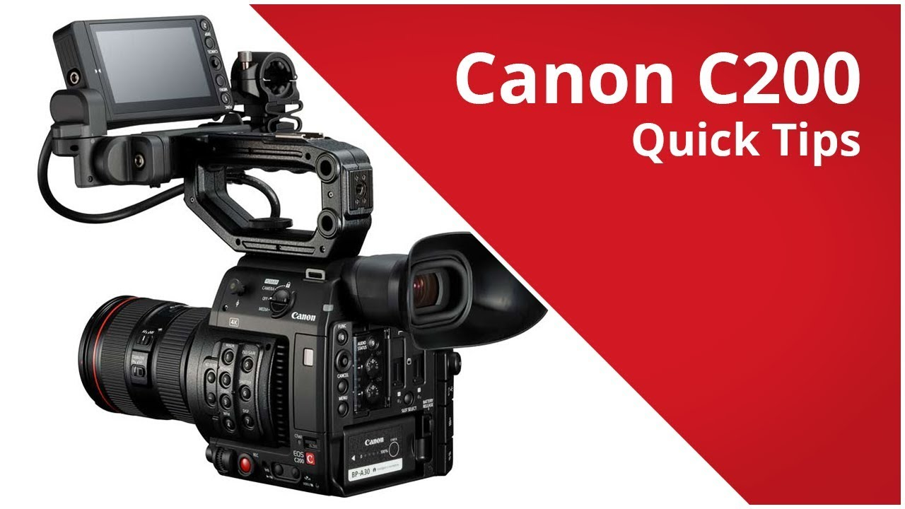 RedShark News - 5 great quick tips on using the Canon C200
