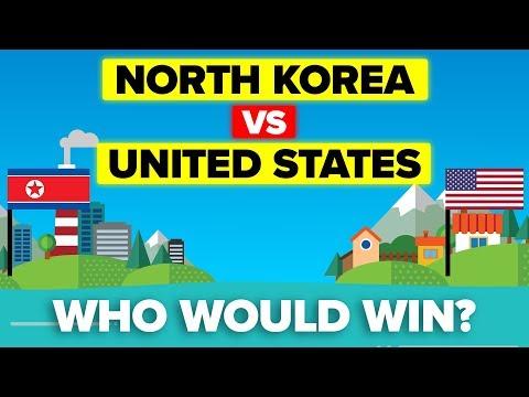 USA vs North Korea - Who Would Win? (Military Comparison 2019)