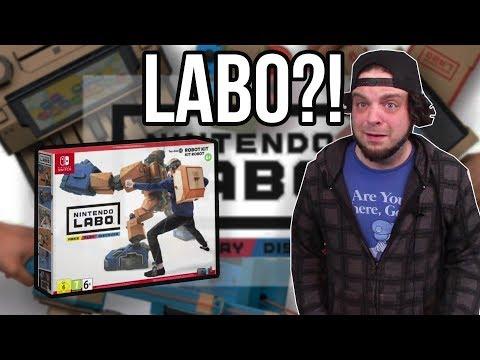 NINTENDO LABO REACTION - It's INSANE, But I LOVE IT! | RGT 85