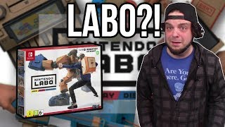 NINTENDO LABO REACTION - It's INSANE, But I LOVE IT! | RGT 85