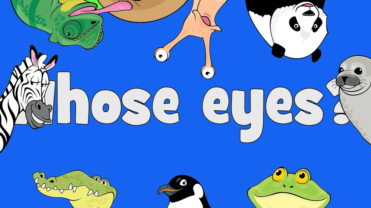 Whose Eyes | Learn Animals Song for Kids - YouTube