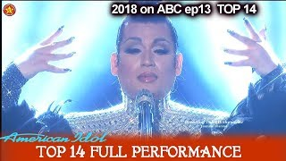"""Download Mp3 Ada Vox Sings """"the Show Must Go On"""" Biggest Voice  American Idol 2018 Top 14"""