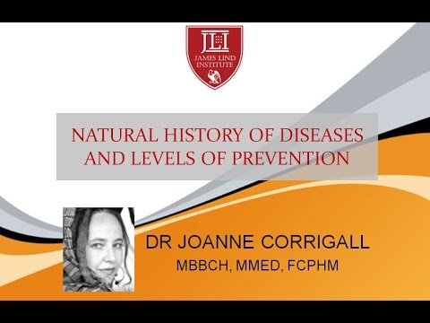 Web Session: Natural History of Diseases & Levels of Prevention