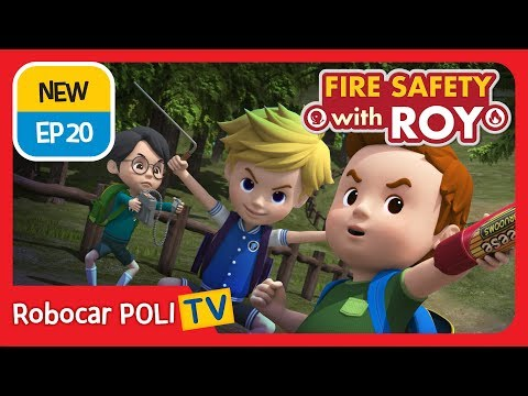 🔥Fire safety with Roy | EP20 How to Call 911! | Robocar POLI