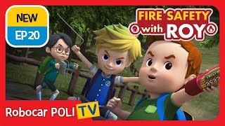 🔥Fire safety with Roy | EP20 How to Call 911! | Robocar POLI | Kids animation
