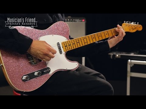 Fender Custom Shop L.E. NAMM 2016 Custom-Built Postmodern Journeyman Telecaster Electric Guitar