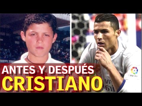 Cristiano ronaldo antes y despu s youtube for Extensiones antes y despues