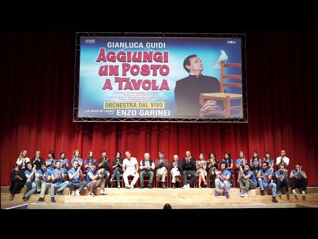 TEATRO BRANCACCIO - AGGIUNGI UN POSTO A TAVOLA conferenza stampa