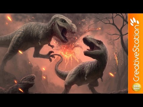 Cretaceous - Speed Painting (#Photoshop)   CreativeStation GM