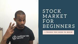 Stock Market for Beginners 2019  |  Stock Market Investing 101  2019
