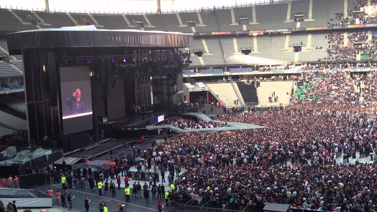 stade de france 14 juiller 2012 concert madonna martin solveig youtube. Black Bedroom Furniture Sets. Home Design Ideas