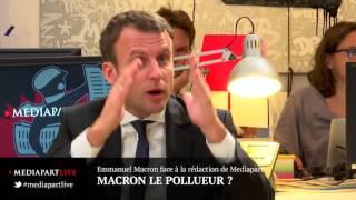 Macron le pollueur ?