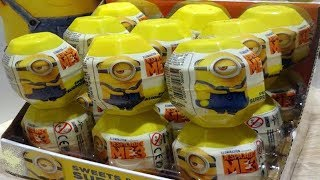 Minions Despicable Me 3 Kinder 18 Surprise Eggs from Minions Movie thumbnail