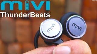 Mivi Thunderbeats Review : Best Budget Bluetooth Earphones !!! [Hindi]
