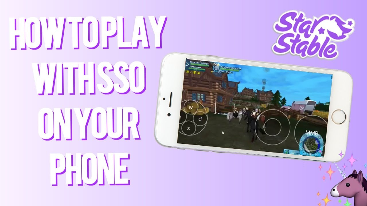 Star Stable Online - How to play with SSO on your Mobile Phone!