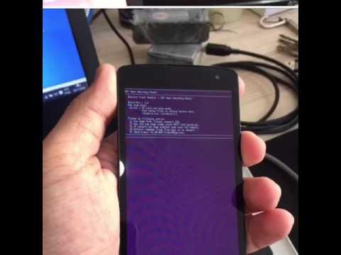 Reparar tela rosa em celular LG erro - Tutorial