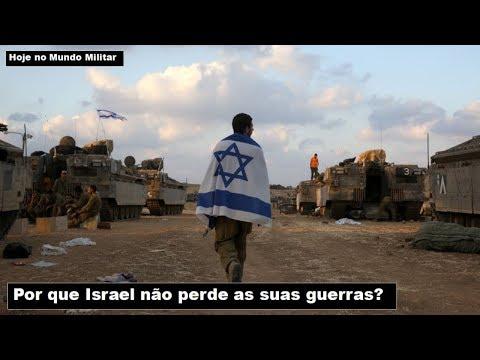 Por Que Israel Não Perde As Suas Guerras?