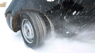Как водить зимой на летней резине?