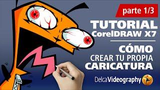 CÓMO VECTORIZAR CARICATURAS (INTERMEDIO) TUTORIAL 13 Corel DRAW X6, X7(DISEÑA PARA HALLOWEEN TUS PERSONAJES PREFERIDOS! SUSCRÍBETE AL CANAL / SUBSCRIBE ..., 2014-05-02T02:14:54.000Z)