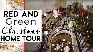 Christmas Decorating - Home Tour 2014  Traditional & Elegant