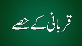 Qurbani Ka Hissa - Madani Guldasta 560 - Maulana Ilyas Qadri