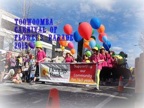 Toowoomba Carnival of Flowers - Full Floral Parade 2015