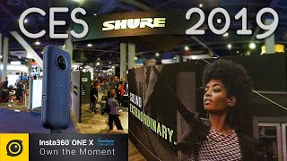 SHURE at #CES2019 Google Maps Style Walkthrough with the Insta360 One X