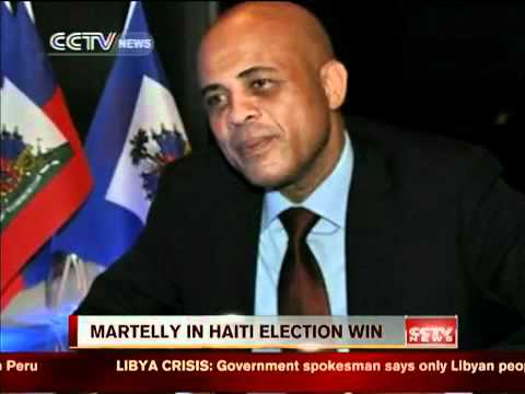 Singer Michel Martelly wins Haiti