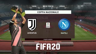 #fifa20 #coppaitaliafinal #juventusnapoli