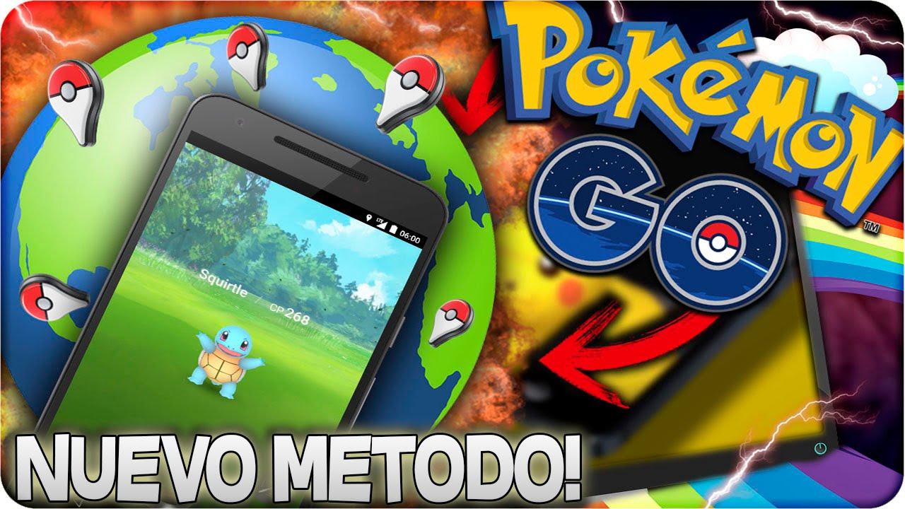 Como Jugar Pokémon Go Desde Casa Y En Cualquier Pais Nuevo Metodo Actualizado Hack Gps Pokémon Go Youtube