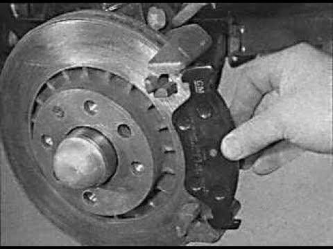 Замена тормозных колодок Opel Vectra A / Calibra