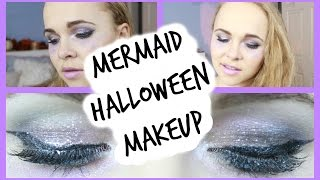 Mermaid Makeup for Halloween!
