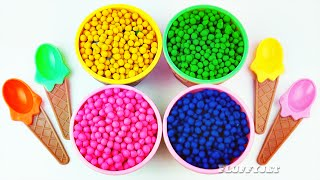 learn colours for children with play doh dippin dots play learn with toys teach your kids colors