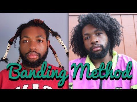 Heatless Stretching   Banding Method on Natural Hair