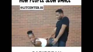 How people slow dance