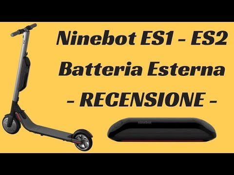 Recensione Batteria Esterna per Ninebot ES1 ed ES2