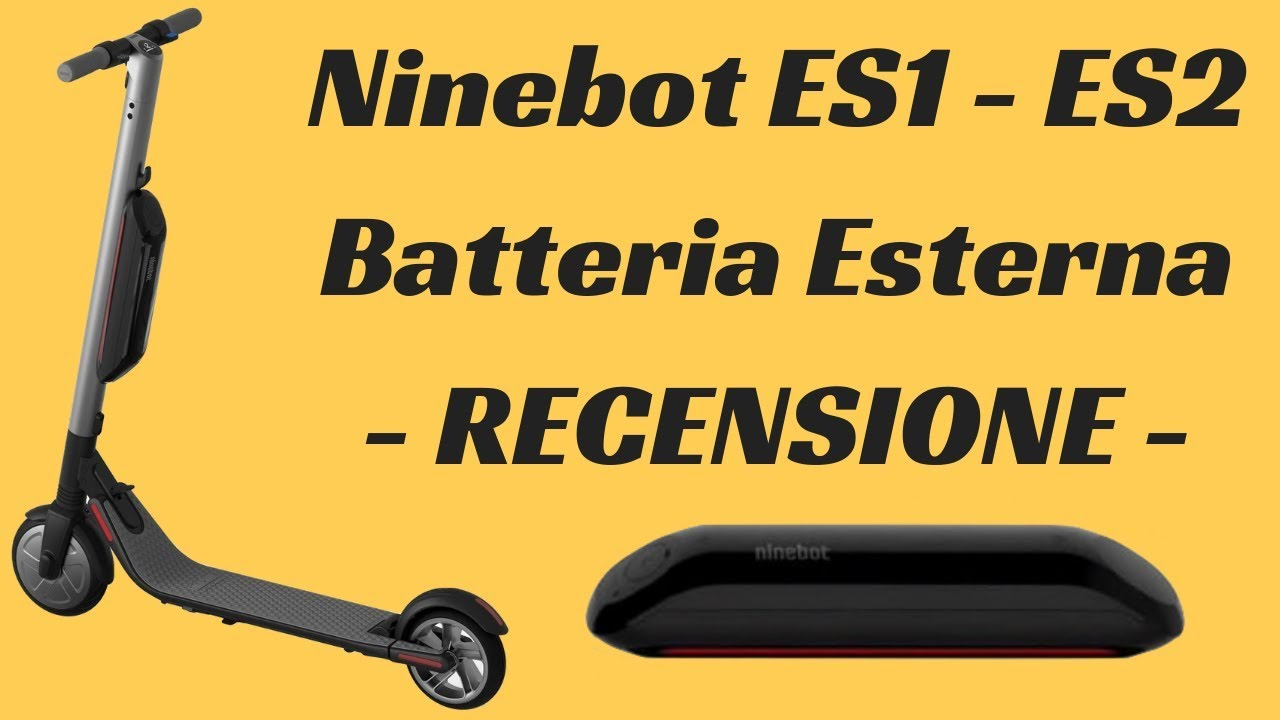 Ninebot ES1 and ES2 External Battery Upgrade Review