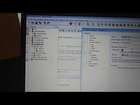 Creat A Java Web Project In Netbeans And Fix Errors