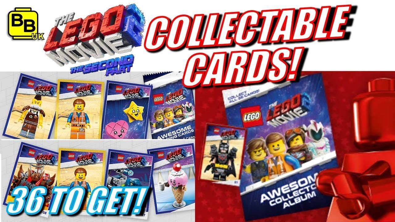 It S Trading Time Lego Movie 2 Collectable Trading Cards Promotion